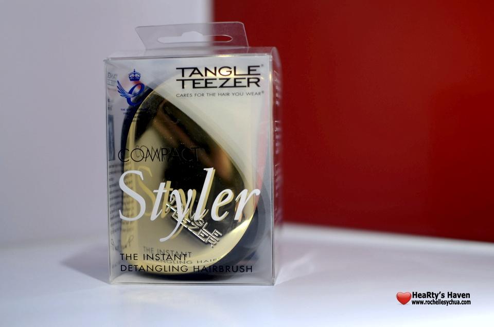 Tangle Teezer Brush packaging