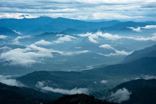 nepal clouds landscape