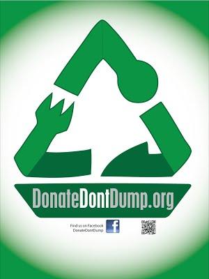 Donate Dont Dump