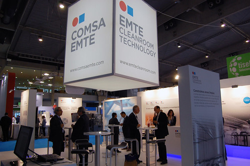 EMTE Cleanroom Technology shows its expertise in clean rooms in Expoquimia