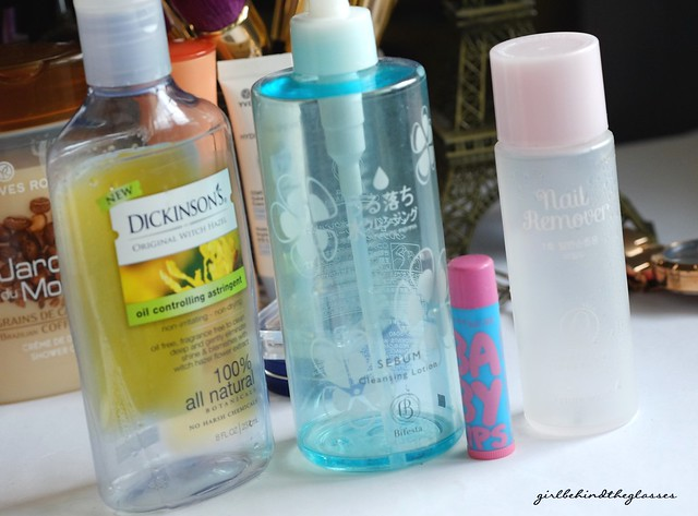 September 2015 Product Round Up empties