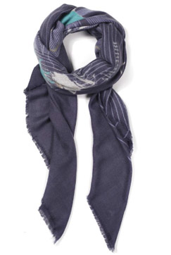 """The Wheel"" Cashmere Scarf"