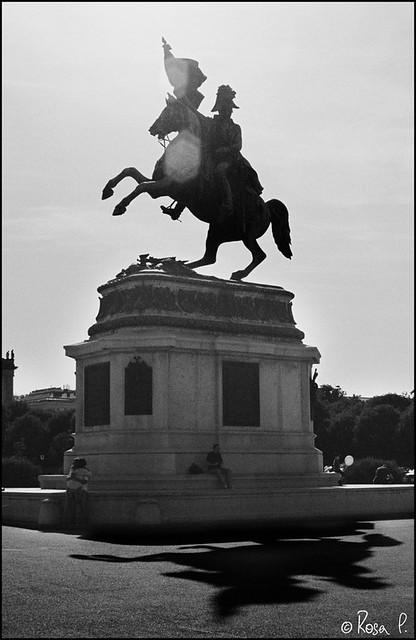 Vienna - Statue