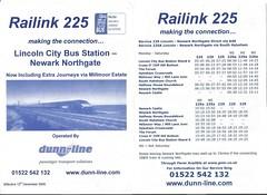 Dunn-Line 'Rail Link' 225 (12/12/05)