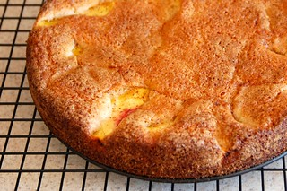 Peach Golden Cake