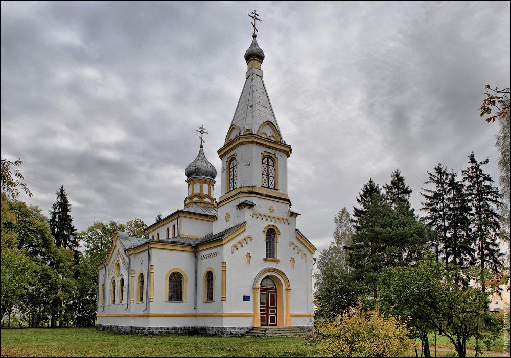 Брашевичи, Церковь Спасо-Преображенская