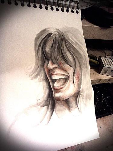 scream portrait