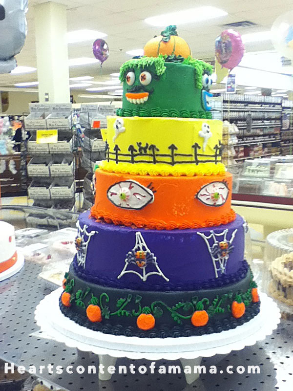 halloweencakewith5tiers