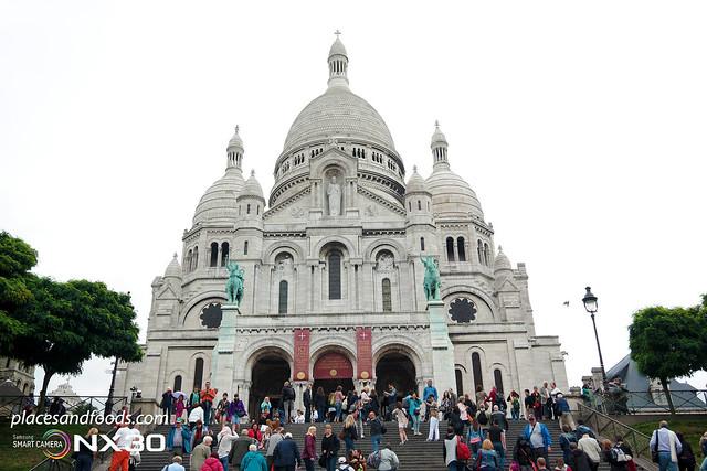 montmarte Basilica of the Sacré Cœur