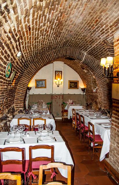 Restaurantes Centenarios de Madrid - Botin 2