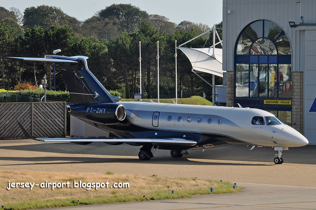 PT-ZHY Embraer 550 Legacy