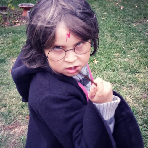 Harry Potter #7yearold #secondgrader #secondgrade #halloween