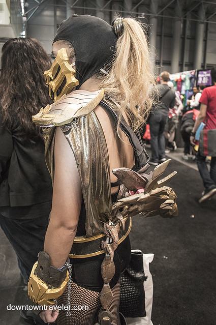 NY Comic Con 2014 Scorpion Mortal Kombat