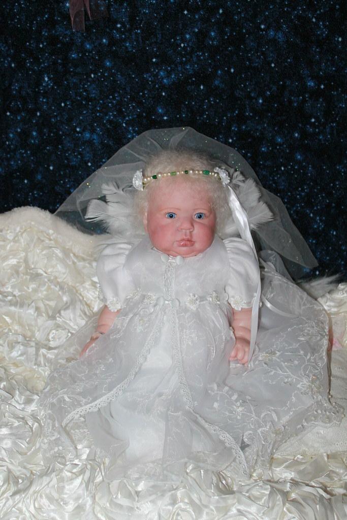 Sweet Pea Babies Nursery Reborn Doll Beautiful Snow Angel