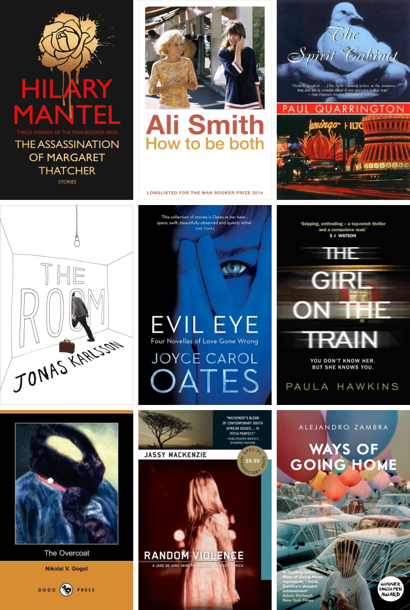 October 2014 books