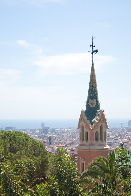 Barcelona with Kids: Park Guell | Family Travel