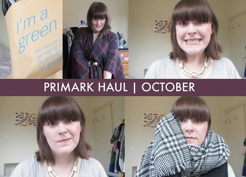 Primark Haul | October