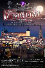 Ruta especial Halloween Infantil en Toledo 2014