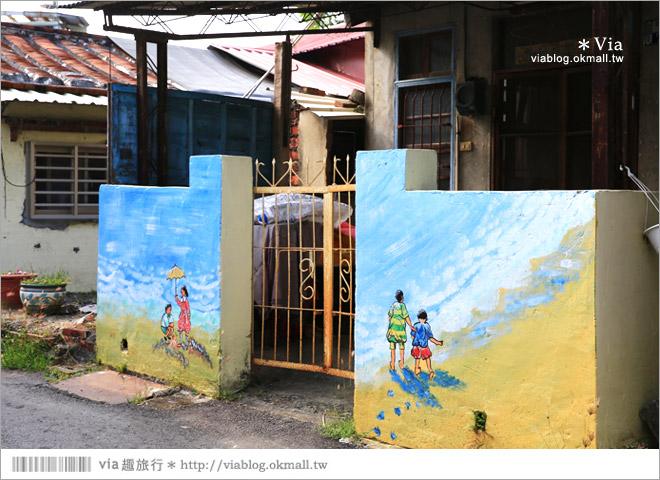 【關廟彩繪村】新光里彩繪村~在北寮老街裡散步‧遇見全台最藝術風味的彩繪村42