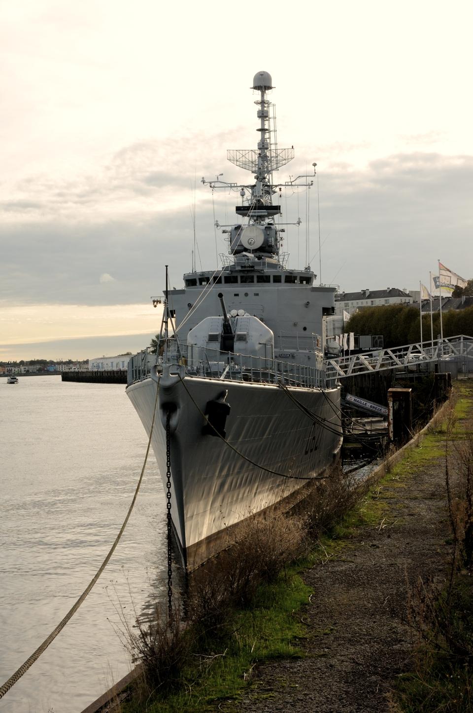 An escort ship