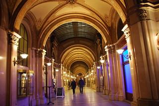 Freyung Passage, Shopping Arcade in the Palais Ferstel, Vienna