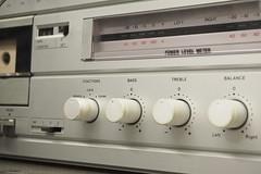 communication device(0.0), radio receiver(0.0), electronics(1.0), cassette deck(1.0),