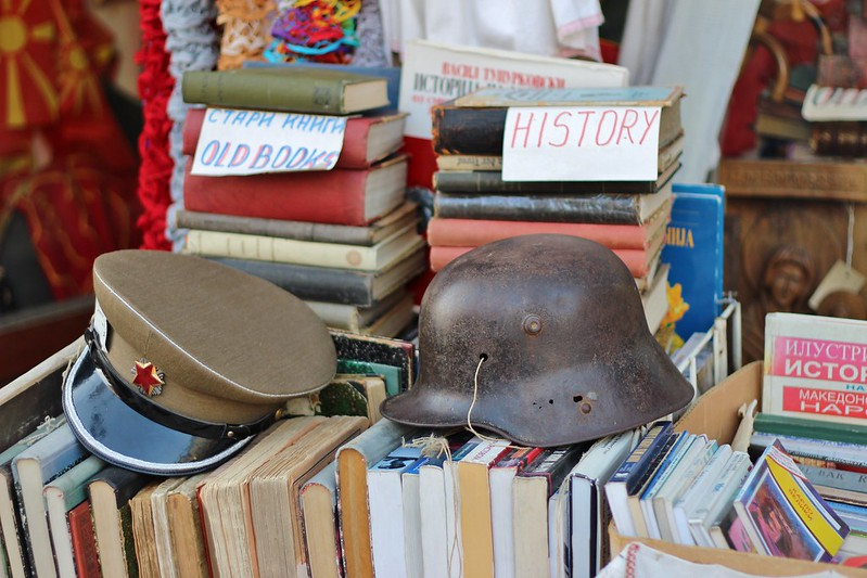 books and hats