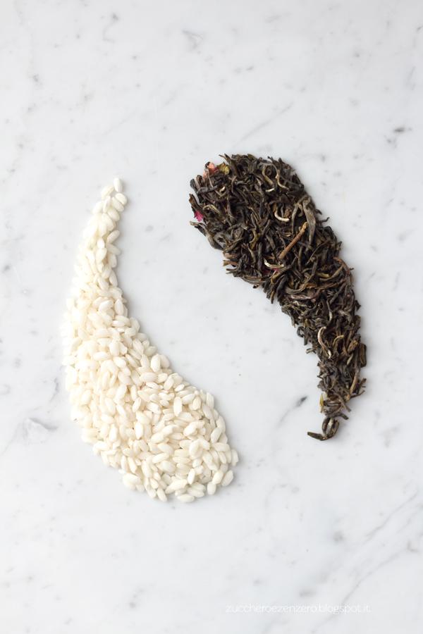 Pasticcini di riso al tè verde alla rosa
