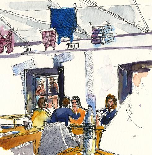 La Corde a Linge restaurant, Strasbourg, France