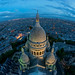 Above Sacré Coeur by A.G. Photographe