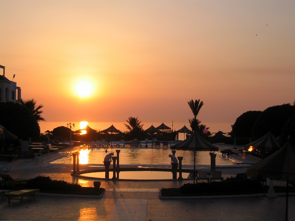 Tunisia - Mahidà - The sunrise