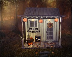 Halloween Vignette (and freebies!)