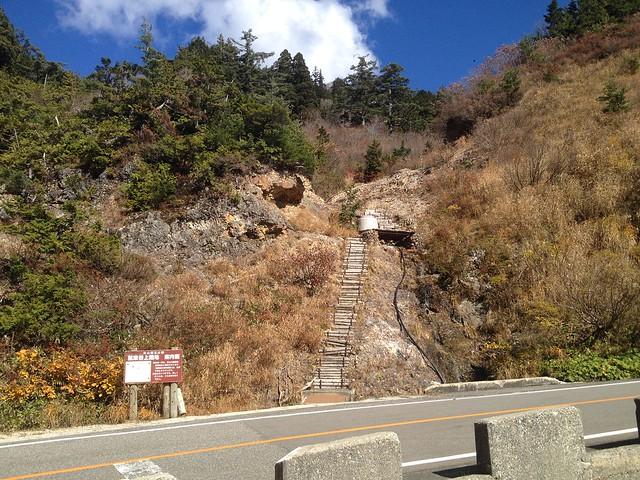 白山スーパー林道 ふくべ山展望台 登山口