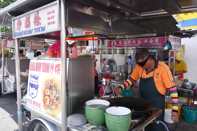 KTG Penang Char Kway Teow at Lorong Selamat, Penang.