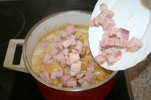 35 - Gewürfeltes Kasseler hinzufügen / Add dices smoked pork