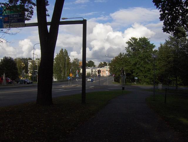 Hämeenlinnan moottoritiekate ja Goodman-kauppakeskus: Työmaan lähtötilanne 3.9.2011 - kuva 10