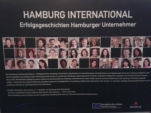 """Ausstellungseröffnung """"Hamburg International - Erfolgsgeschichte Hamburger Unternehmer"""" im Rathaus Harburg"""