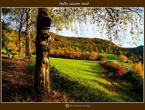 autumn colors bayern bavaria herbst farben fränkischeschweiz franconianswitzerland ebermannstadt