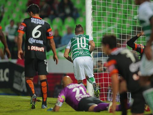Santos supera a Tuzos