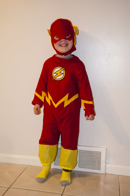 Halloween 2014: The Flash!