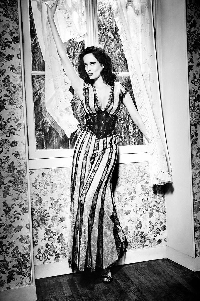 Ева Грин — Фотосессия для «Glamour» IT 2016 – 4