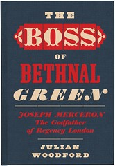 Front cover of 'The Boss of Bethnal Green', designed by David Pearson