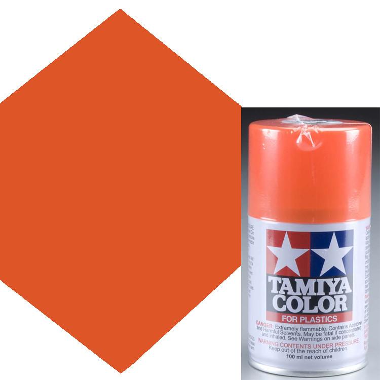 Bright Orange Paint tamiya ts-31 bright orange lacquer spray paint 3 oz | ebay