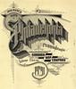 Philadelphia, PA 1920 Map Cover