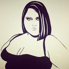 @bethditto #illustration #sketch #suriani #surianiart #bethditto #thegossip #fierce #beauty #queerart #diva