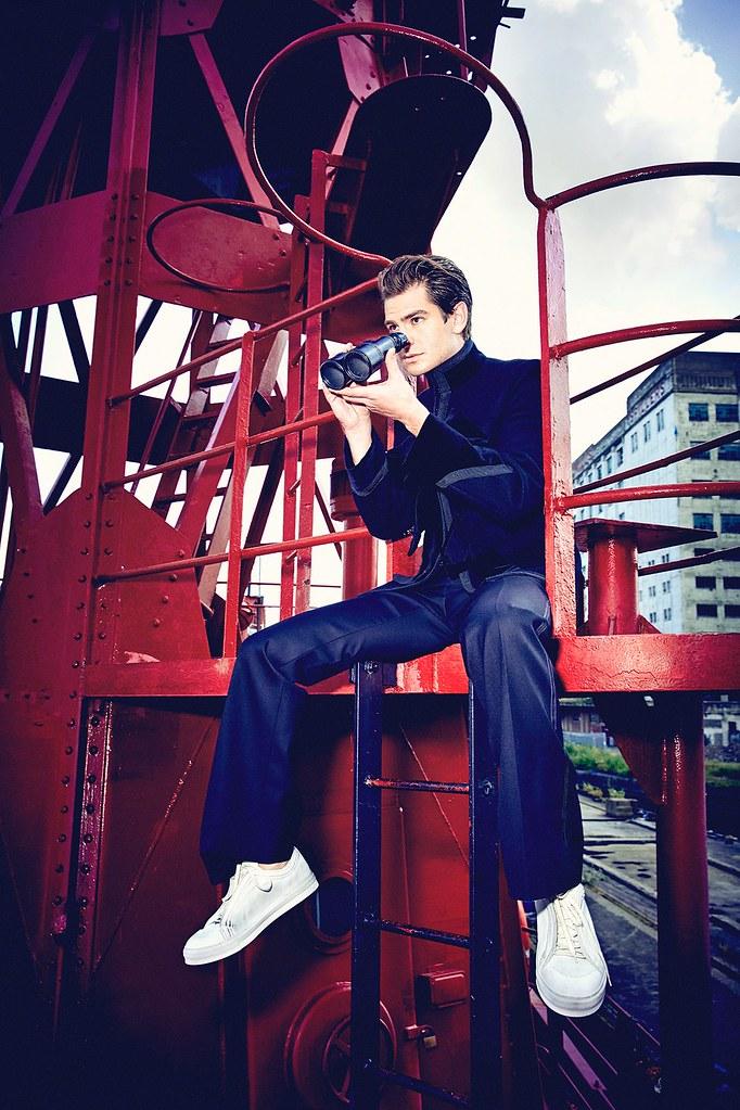 Эндрю Гарфилд — Фотосессия для «L'Uomo Vogue» 2016 – 6