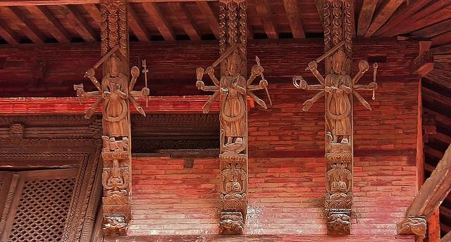 NEPAL, Kathmandu - unterwegs in der Altstadt, 15022