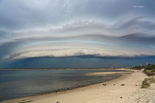 sky cloud storm rain weather canon geotagged photography flickr darkness sydney australia wideangle nsw thunderstorm sydneyairport deluge volatile shelfcloud canon5dmarkiii markbimagery