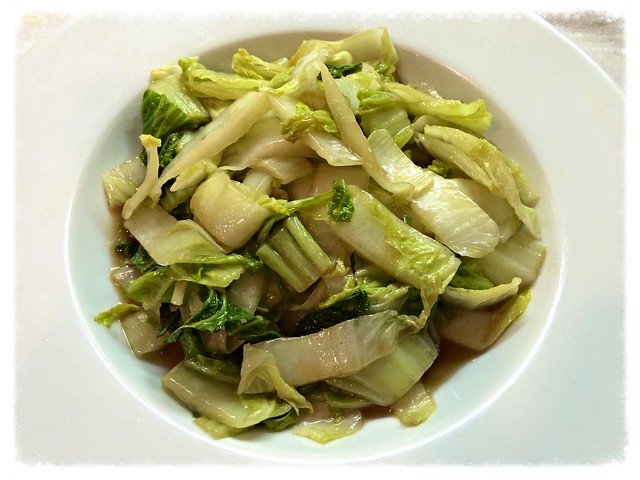 Chinese cabbage with vinegar 醋溜白菜