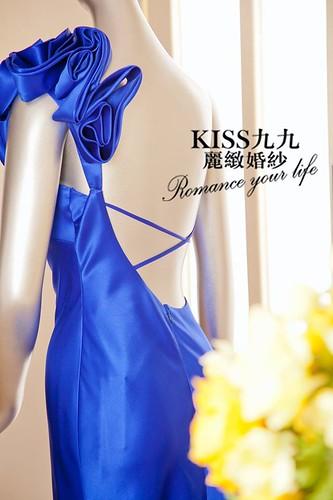 高雄KISS九九麗緻婚紗-推薦婚紗禮服-湛藍光影(1)
